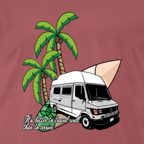 Mercedes Bus Surf-Mobile - Männer Premium T-Shirt