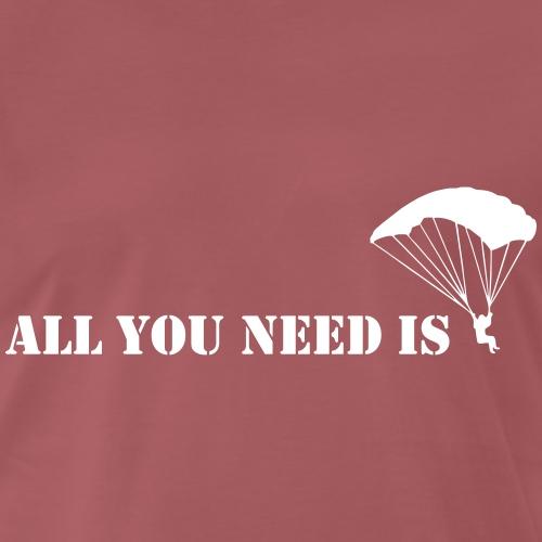 allyouneed fallschirm - Männer Premium T-Shirt