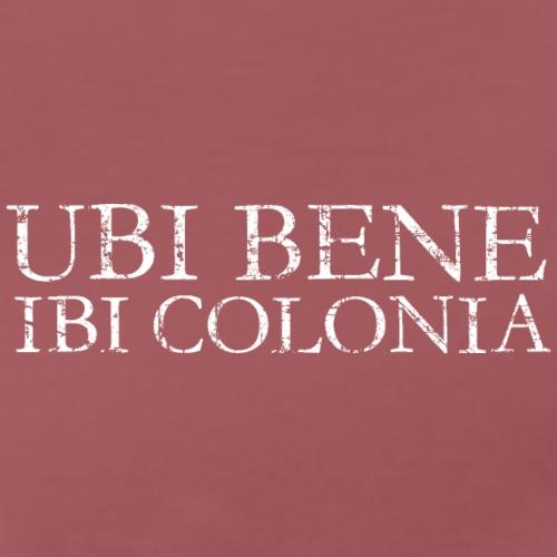 UBI BENE IBI COLONIA Vintage Weiß - Männer Premium T-Shirt