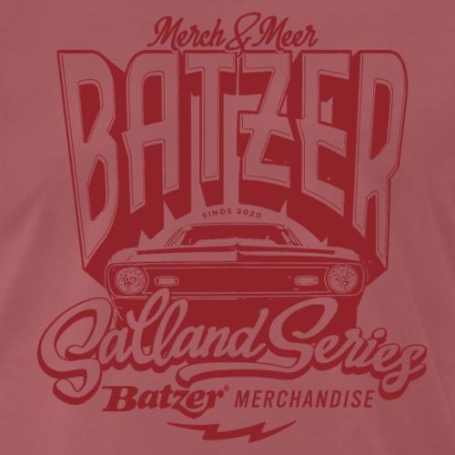 BATZER AUTO ROOD SALLAND SERIES - Mannen Premium T-shirt