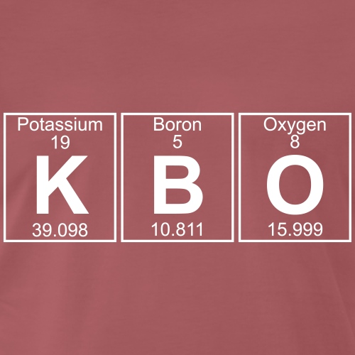 K-B-O (kbo) - Full - Men's Premium T-Shirt
