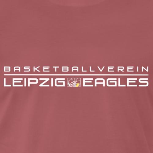 Eagles Schriftzug weiß 2 - Männer Premium T-Shirt
