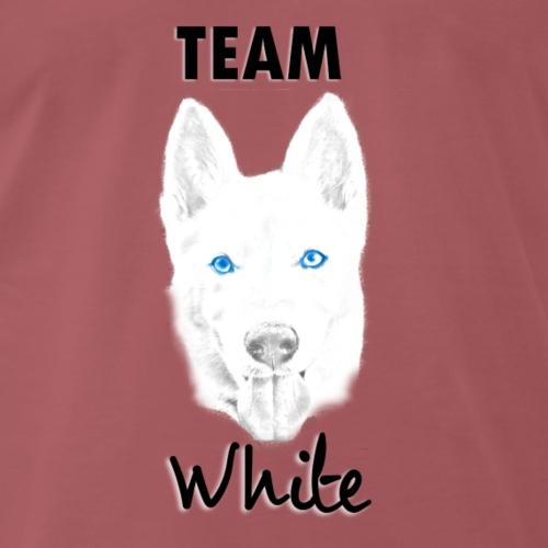Team White - Camiseta premium hombre
