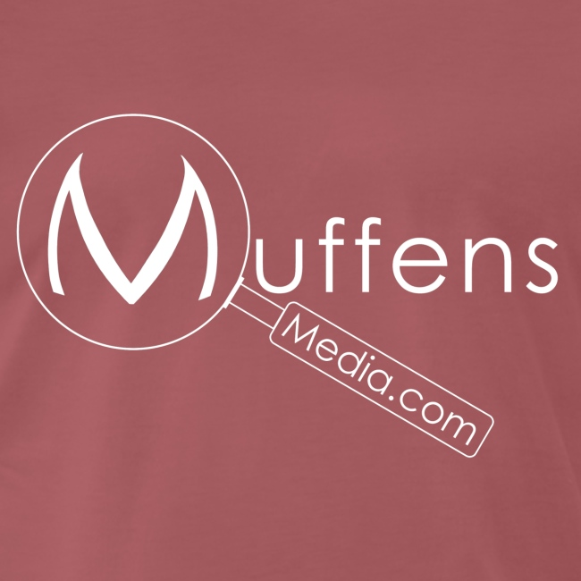 Muffens Media hvit logo