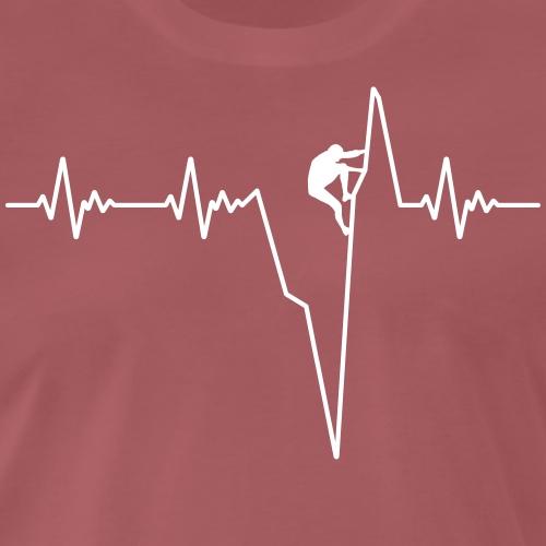 Climb Pulsline - Men's Premium T-Shirt