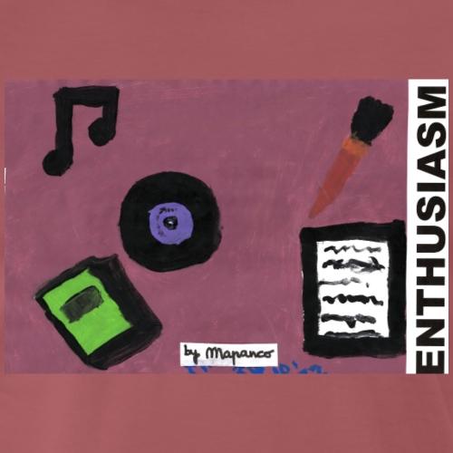 ENTHUSIASM - Camiseta premium hombre