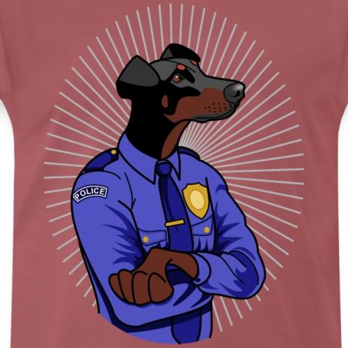 Doberman - policier