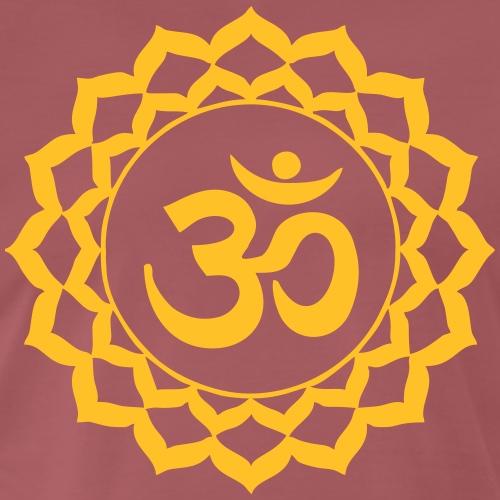 Yoga Meditation Tantra Cardio Goa Om Zeichen - Männer Premium T-Shirt