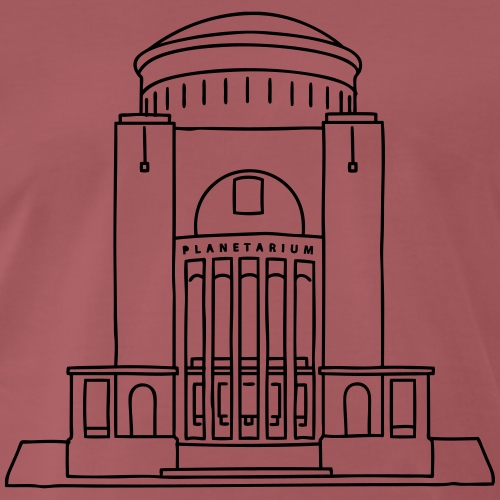 Planetarium Hamburg - Männer Premium T-Shirt