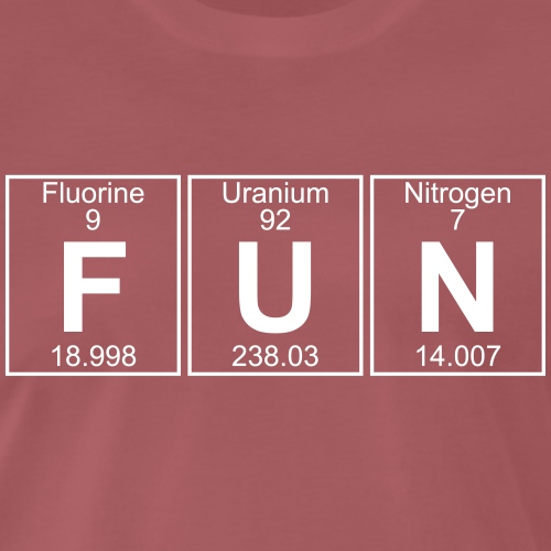 F-U-N (fun) - Full - Men's Premium T-Shirt