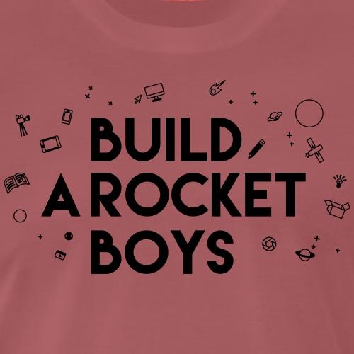 Build a Rocket - Mannen Premium T-shirt
