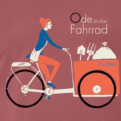 Ode an das Fahrrad Urban Gardening - Männer Premium T-Shirt