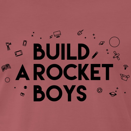 Build a Rocket - Mannen Premium T-shirt