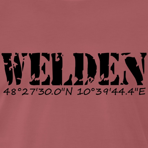 WELDEN_NE - Männer Premium T-Shirt