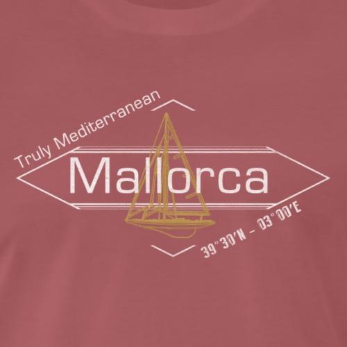 Mallorca a mediterranean insel - Camiseta premium hombre