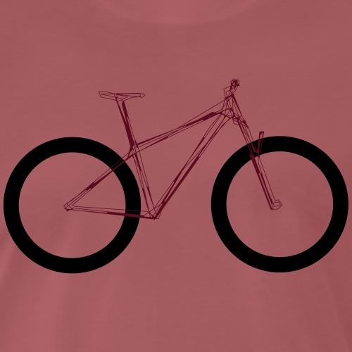 MTB Hardtail - Männer Premium T-Shirt