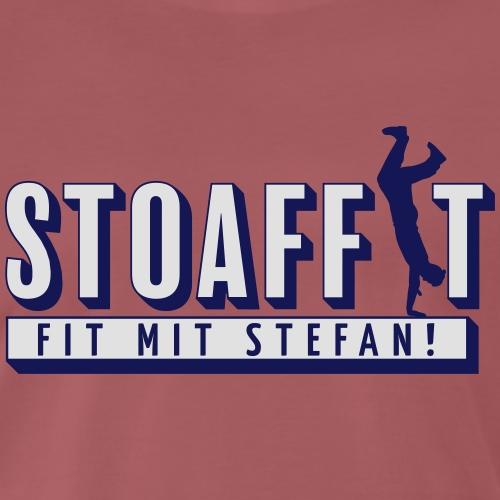 STOAFFIT - Fit mit Stefan - Männer Premium T-Shirt