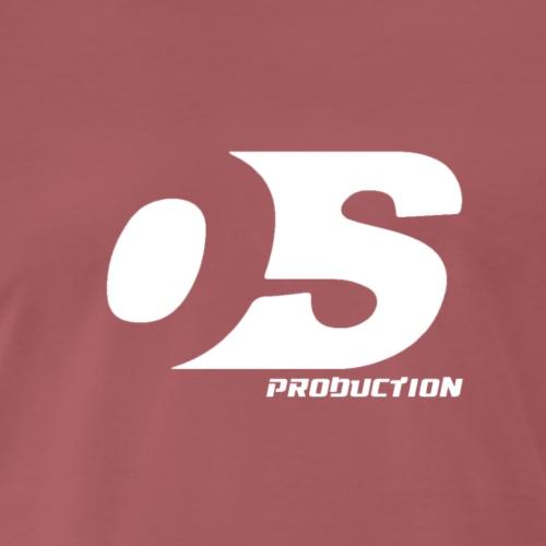 OS production LOGO BLANC - T-shirt Premium Homme