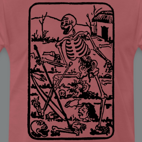 The Death - Old Indian / Asian Tarot Card - Männer Premium T-Shirt