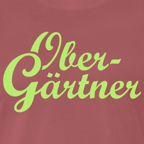 Obergärtner - Männer Premium T-Shirt
