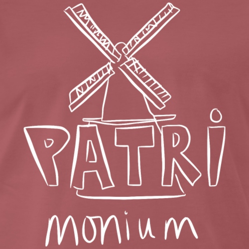 Patrimonium Amstelveen - Mannen Premium T-shirt