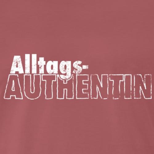 AlltagsAUTHENTIN weiß - Männer Premium T-Shirt