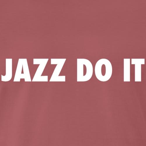 jazzWhite - Camiseta premium hombre