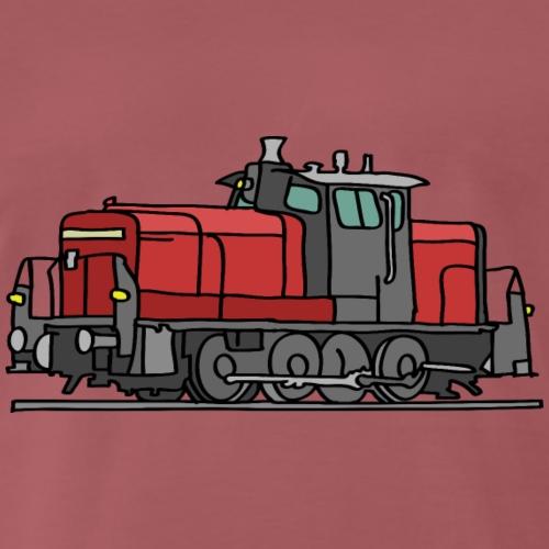 Diesellokomotive - Männer Premium T-Shirt