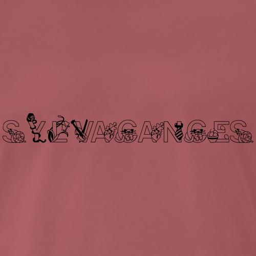 Sylvacances3 - Men's Premium T-Shirt