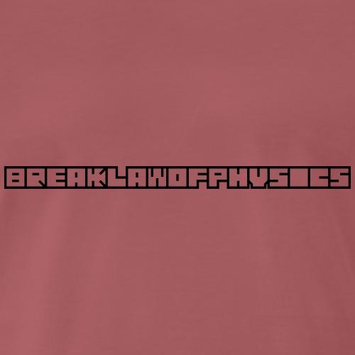 BLOP Logo - horizontal - Männer Premium T-Shirt