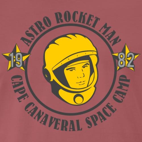 astro rocket man grey - Männer Premium T-Shirt