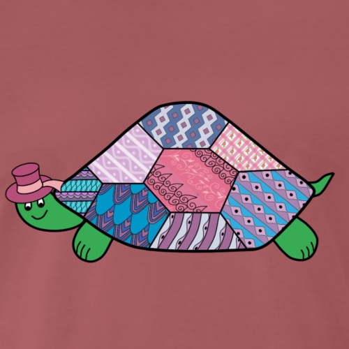 purple tortoise - Men's Premium T-Shirt