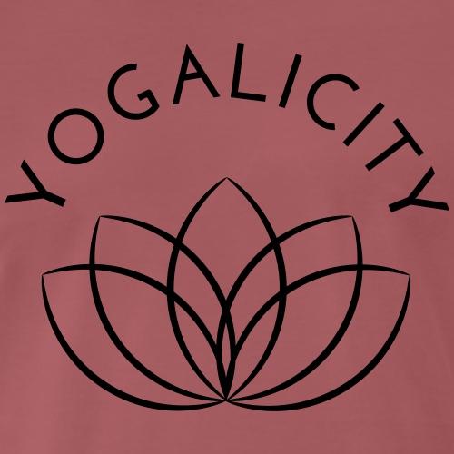 Yogalicity Lotus - Männer Premium T-Shirt