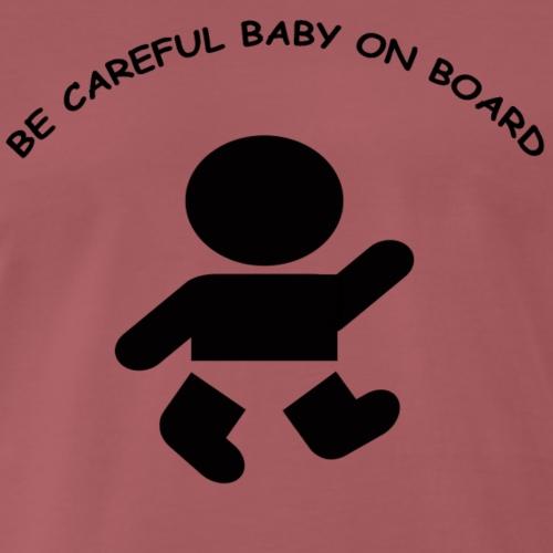 babyonboard - Men's Premium T-Shirt