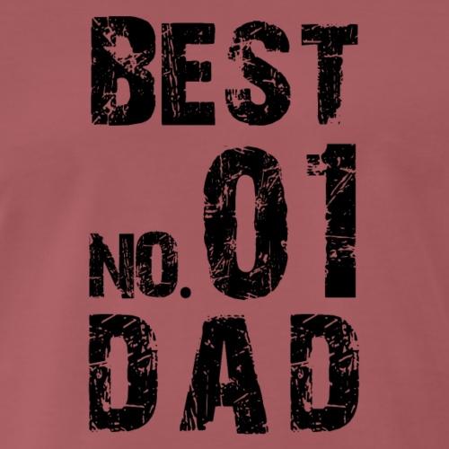 No. 1 BEST DAD - Männer Premium T-Shirt