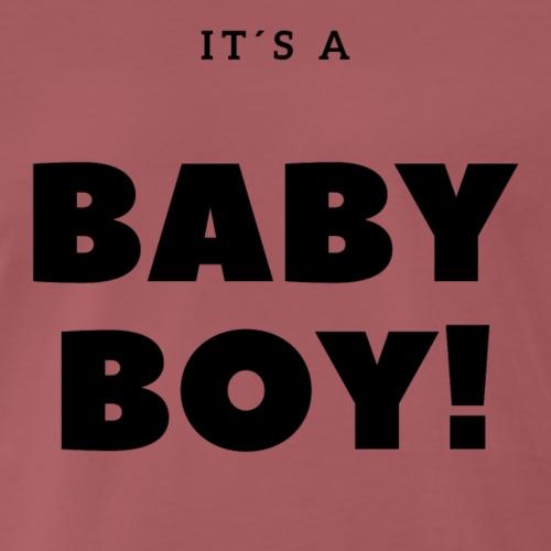 It´s a Baby Boy - Geschenkidee - Männer Premium T-Shirt