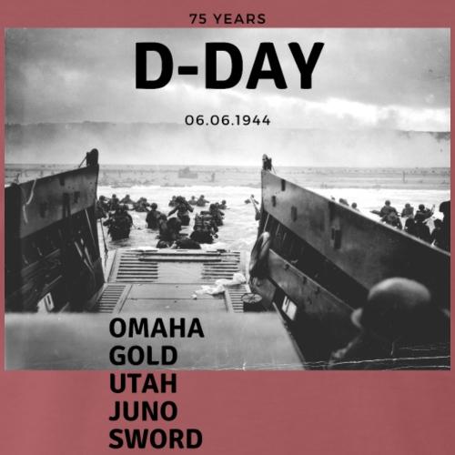 75 Jahre D-Day - Männer Premium T-Shirt
