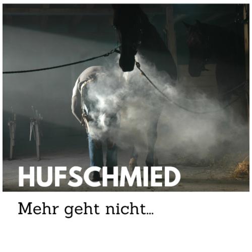 Hufschmied - Mehr geht nicht... - Männer Premium T-Shirt