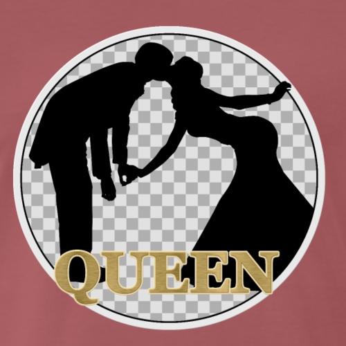 Queen mit Paar - Männer Premium T-Shirt