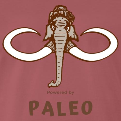 Powered by Paleo - Männer Premium T-Shirt