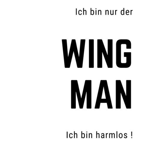 Wingman - Ich bin harmlos - Männer Premium T-Shirt