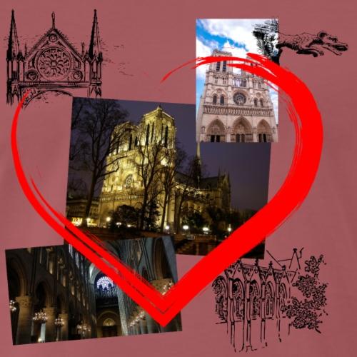 Notre Dame de Paris - Männer Premium T-Shirt