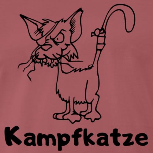Kampfkatze - Männer Premium T-Shirt