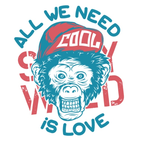 All we need is Love - Männer Premium T-Shirt