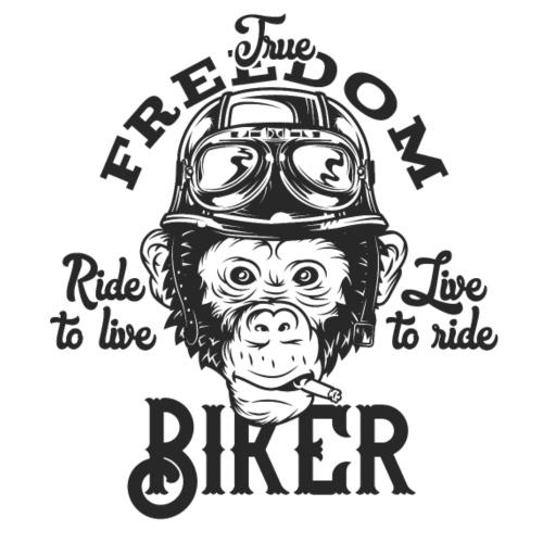 Freedom Biker - Männer Premium T-Shirt