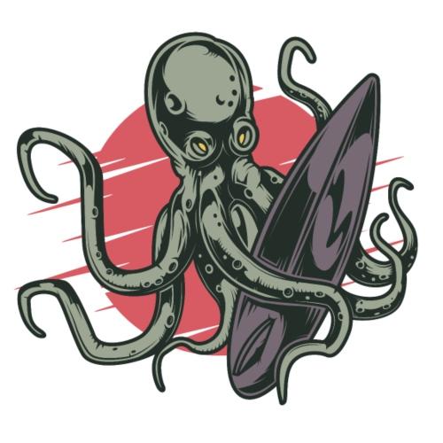 Surfing Octopuss - Männer Premium T-Shirt