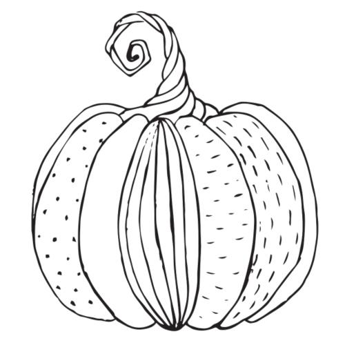 Halloween Pumpkin - Männer Premium T-Shirt