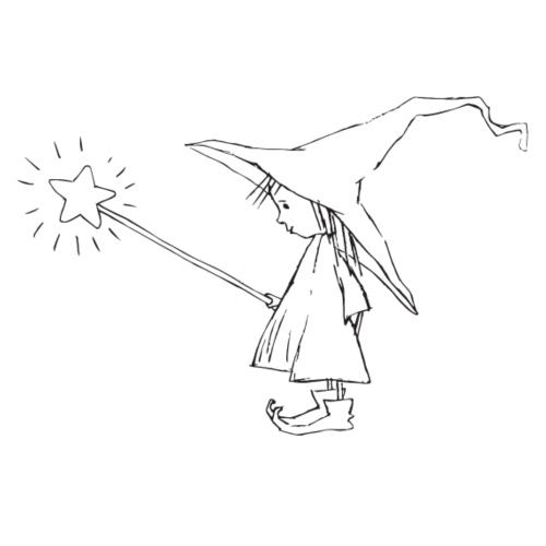 Witch standing - Männer Premium T-Shirt