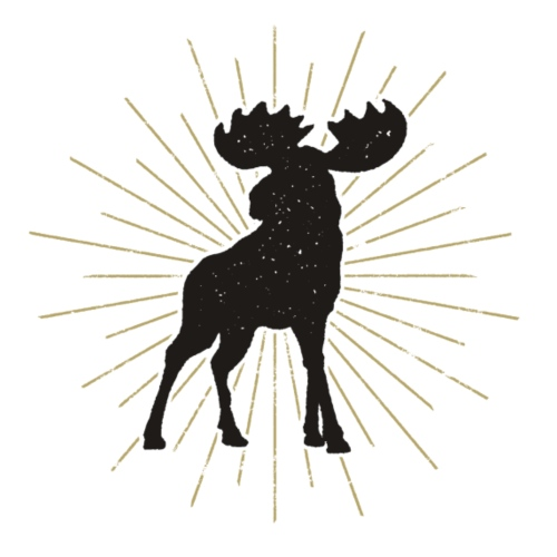 Moose - Männer Premium T-Shirt