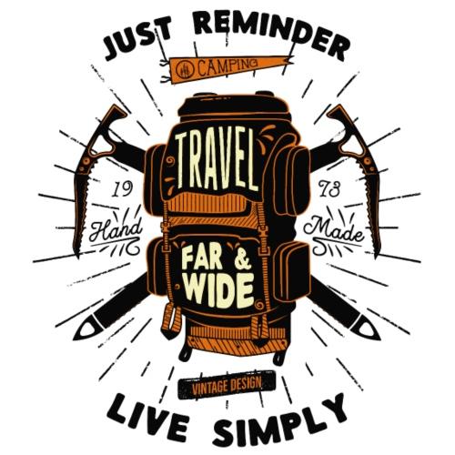 Live simply - Männer Premium T-Shirt